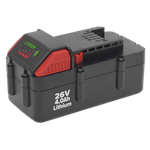 Power Tool Battery 26V 4Ah Li-ion for CP2612 & CP2634 CP26BP Spare Part Image