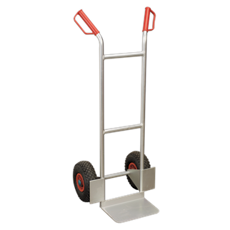 CST979 Sack Truck Pneumatic Tyres Aluminium 120kg Capacity • Lightweight aluminium construction.
