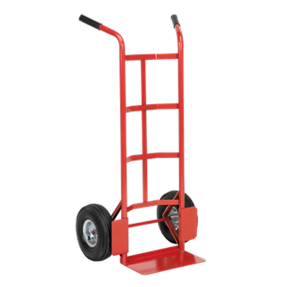 CST986 Sack Truck with Pneumatic Tyres 200kg Capacity • Extra strong tubular steel frame construction.