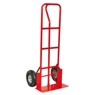 CST988 Sack Truck Pneumatic Tyres 250kg Capacity • Extra strong tubular steel frame construction.
