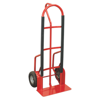 CST998 Sack Truck with Pneumatic Tyres 300kg Capacity • Extra strong tubular steel frame construction.