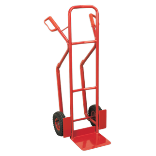 CST999 Sack Truck with Pneumatic Tyres 300kg Capacity • Extra strong tubular steel frame construction.