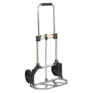 ST33 Sack Truck Folding Aluminium 70kg Capacity • Lightweight aluminium and composite construction, weighs just 3.8kg.