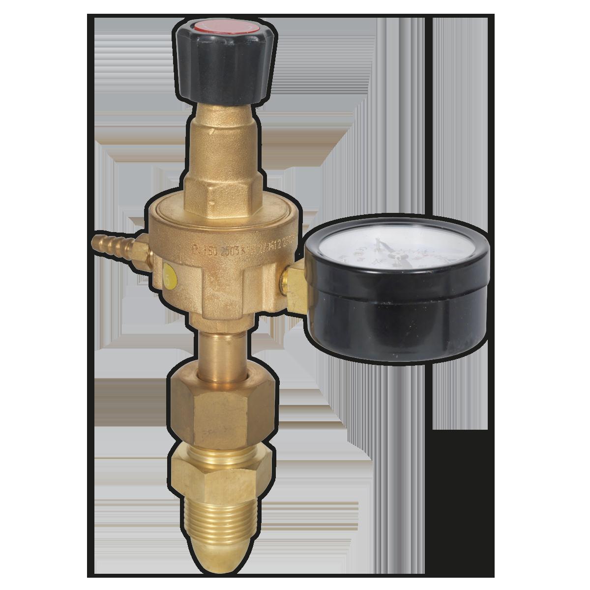 Sealey REG//MO MIG Gas Regulator 1 Gauge Industrial