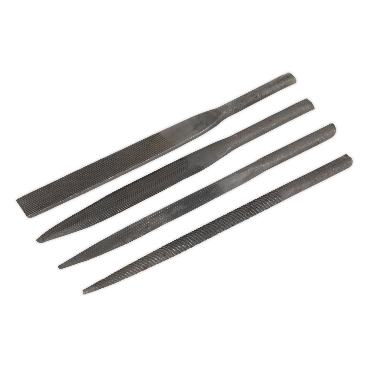 Sealey Needle File Set 4pc for GSA345 GSA345F - 5 YEAR WARRANTY