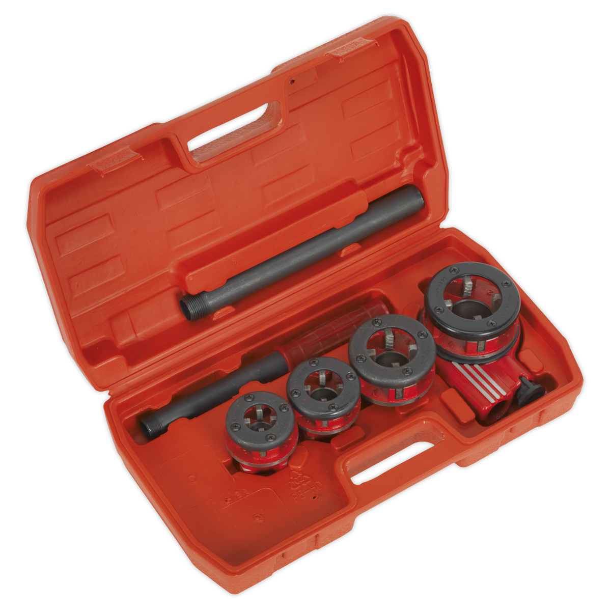 Sealey PTK992 Pipe Threading Set 7Pc 3//8 2Bspt Workshop Garage Equipment