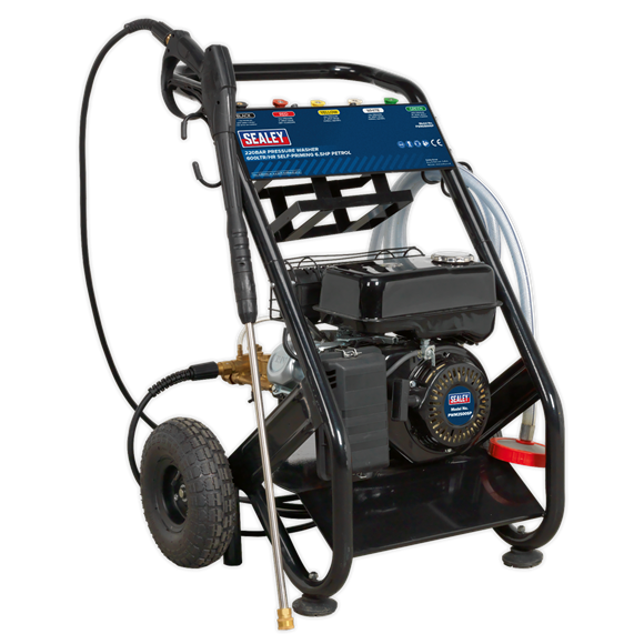 Pressure Washer 220bar 600L/hr Self-Priming 6 5hp Petrol