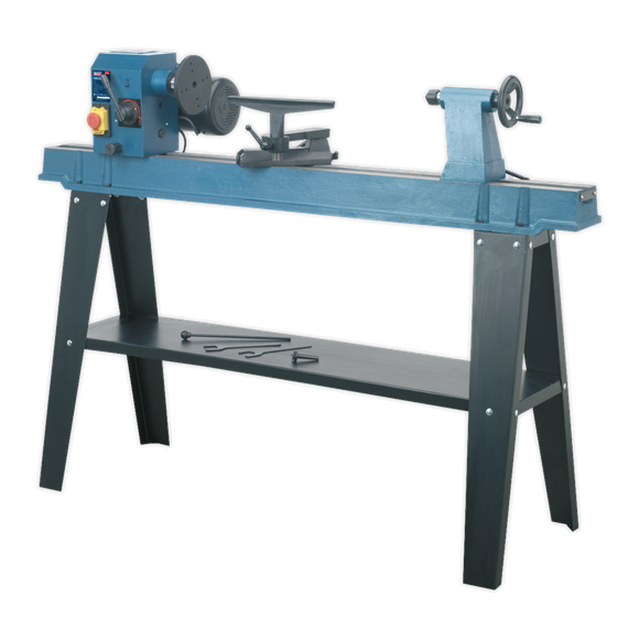 Pleasing Wood Lathe 10 Speed 1100Mm Centres Machost Co Dining Chair Design Ideas Machostcouk